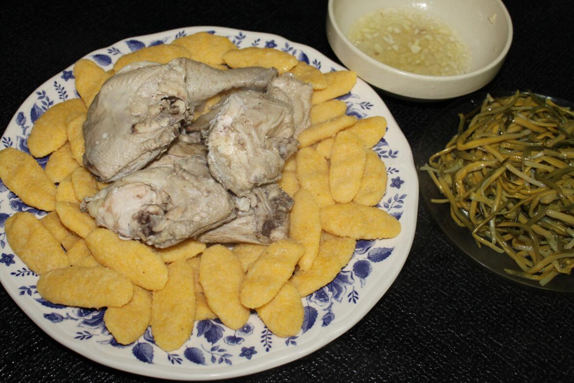 Чеченские блюда, Чеченская кухня, Кукурузные галныш, ахар галныш, кукурузные галушки, рецепт, пошаговый рецепт